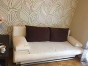 Ausziehbare Couch 2 Sitzer zu