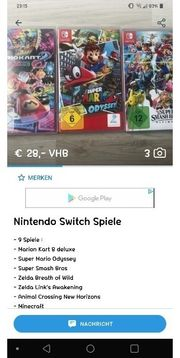 Nintendo Switch Spiele Pokemon Zelda