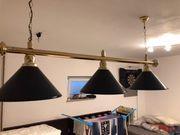Billard Lampe