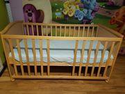 Kinderbett mit Matratze 70x140