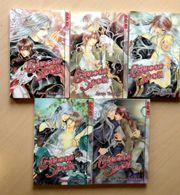 Crimson Spell Manga Bände 1-5