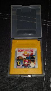 GameBoy Spiel Donkey Kong Land
