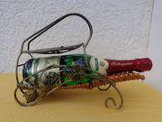 Deko-Weinflaschenhalter Bronze-Optik