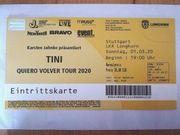 2X Eintrittskarten - Tini - Quiero Volver