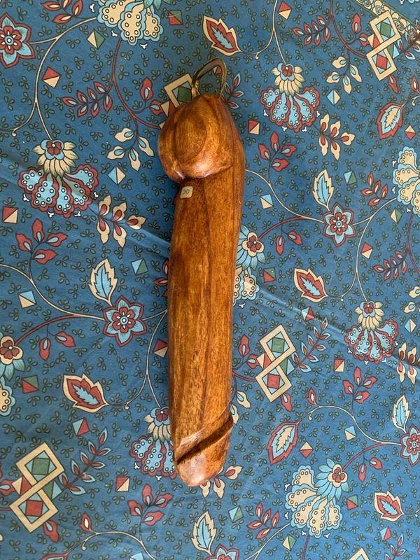 30 cm langer Holzschwanz mit