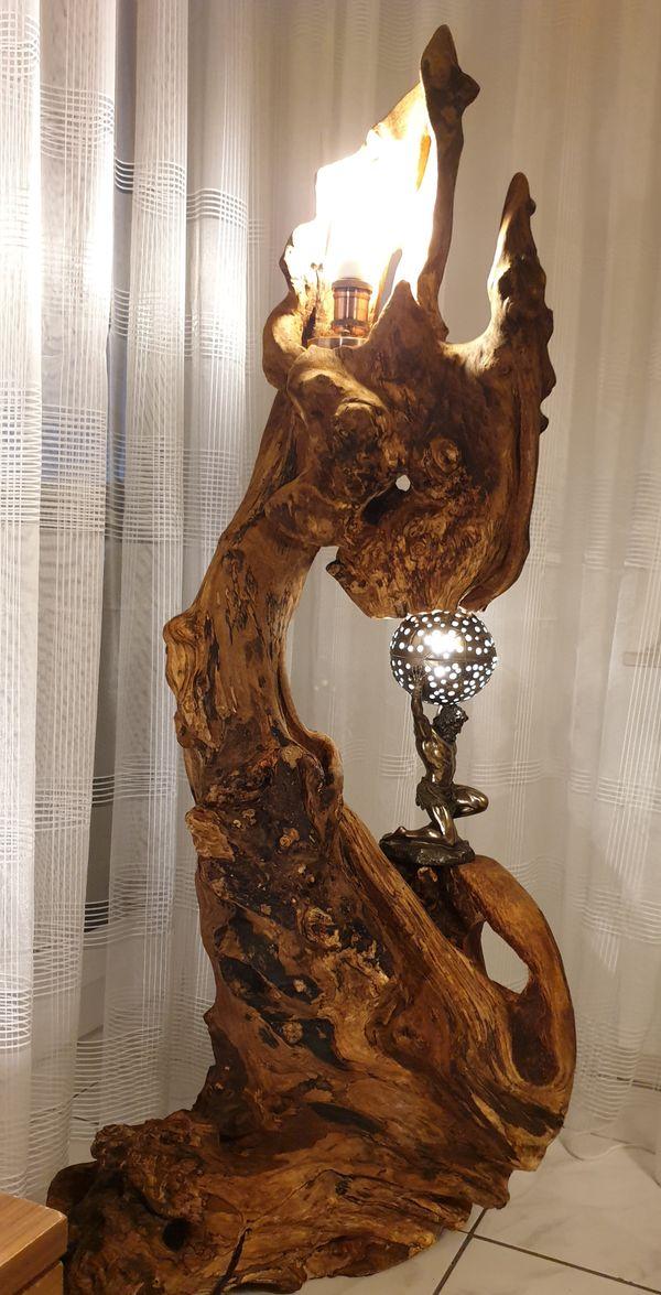 Wurzellampe Skulptur Extraklasse