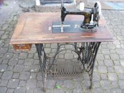Schöne seltene Kayser Nähmaschine komplett
