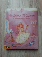 schönes Puzzelbuch Prinzessin
