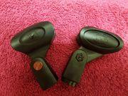 2 x elastische Mikrofonklemmen von