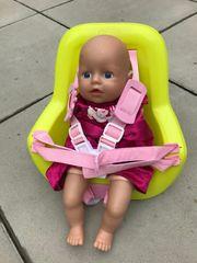 Puppen-Fahrradsitz Babyborn inkl Puppe zu