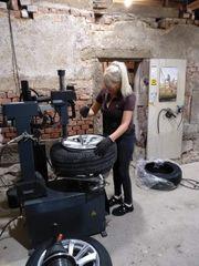 Reifen-Felgen Montage 10 EUR pro