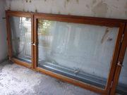 Sehr großes Holzfenster- 68er Rahmen