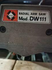 Radialkreissäge Radialarmsäge Säge DW 110