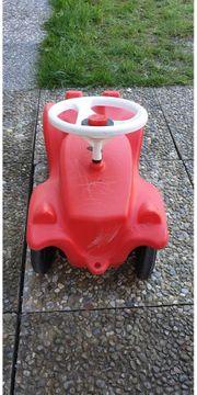 Bobby-Car-Classic rot mit breiter Schubstange