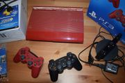 PS3-WIE NEU - 500GB Garnet red