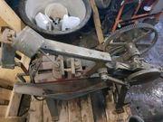 Bügelsäge Metallsäge Werkzeuge Werkstatt Standmotor