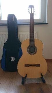 Akustik Gitarre A Heuwieser Modell