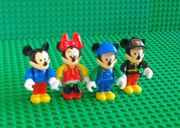 LEGO-Fabuland - 4 MICKEY MOUSE- Figuren