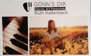 Klavierunterricht und Gitarrenunterricht