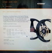Dymag CH3 Vorderrad aus Magnesium-Guss