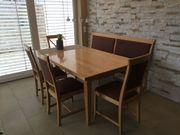 Hochwertiger Esszimmertisch 4 Stühle eine