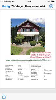 Haus in Thüringen zu vermieten