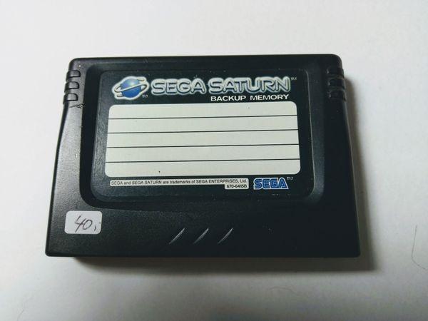 Sega Saturn Backup Memory