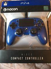 ps4 Controller blau
