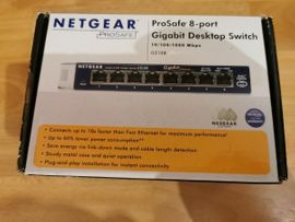 Netgear Prosafe 8 Port Gigabyte Switch