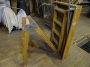 Holztreppe für Dachboden