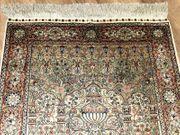 Feiner Hereke Teppich Signiert Seidenteppich