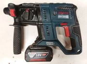 Boschhammer GBH 18-V-21 mit Akku
