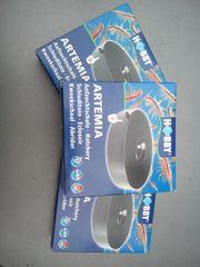 3 Artemia Aufzuchtschalen zu verkaufen