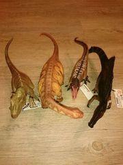 4 große Schleich Dinosaurier NEU