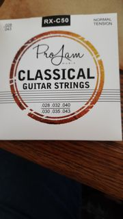 Classical Guitar Strings von Pro