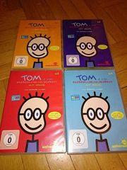 4 Stück Tom DVDs
