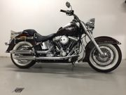 Tolle Harley Softail De Luxe
