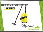 Vermiete Kärcher Industriestaubsauger - Mieten Leihen