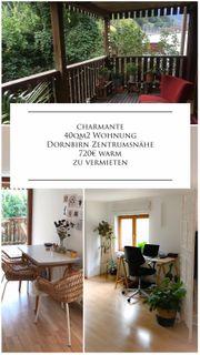 charmante 40qm2 Wohnung Dornbirn Zentrumsnähe