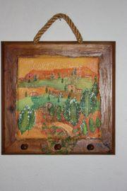 Luxus Vintage Mediterran Handtuchhalter Holz