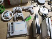 Wii Konsolen mit viel Zubehör