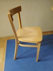 4 Esszimmerstühle Holz Buche hell