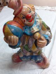 verkaufe Clown Spardose