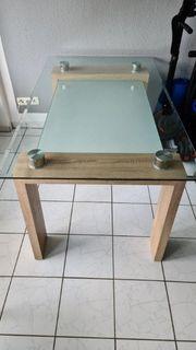 glastisch zu verkaufen