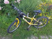Fahrrad Kinderfahrrad gelb Skyrider