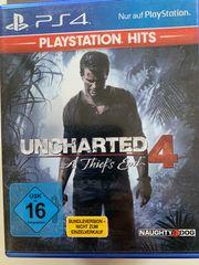 Verkaufe PS 4 Spiel-Uncharted 4
