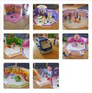 Playmobil Einkaufsstrasse inkl Familyvan