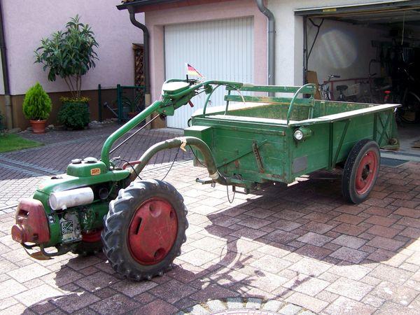 Einachser AGRIA 1700 Bj 1961