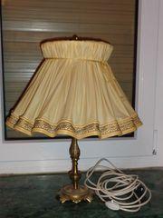 Tischlampe Messing Vintage