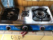 CAGO JV 04 Gaskocher 3-flammig